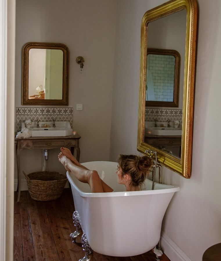 Le chateau de la ruche baignoire