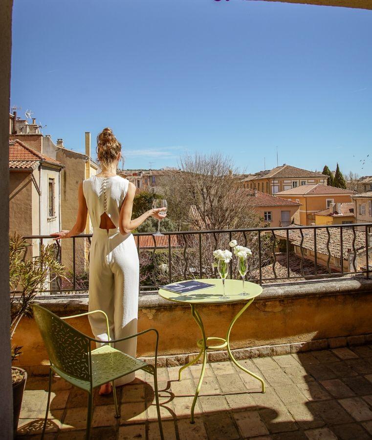 terrasse suite, boutique hôtel la maison d'Aix à Aix en Provence
