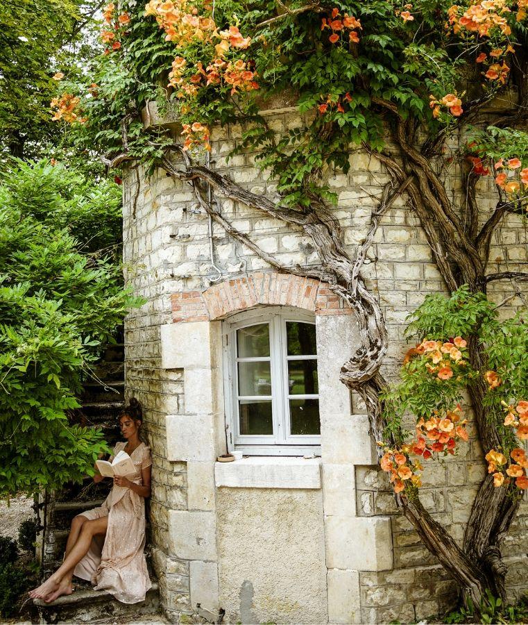 Le manoir de Plaisance jardin