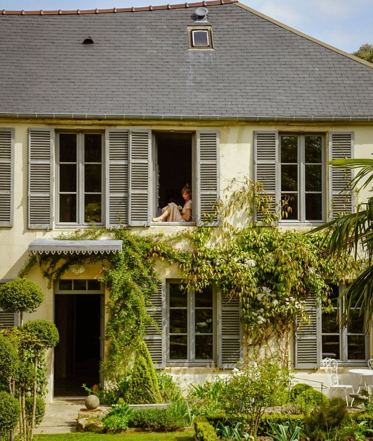 facade de La villa Cambette boutique hotel à bayeux